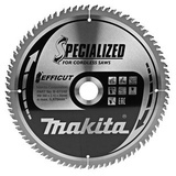 Makita Pyörösahanterä 260mm Z-80 Efficut